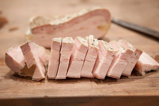 Pork Belly Buns Recipe pork belly fully sliced