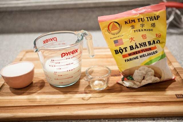 Pork Belly Buns Recipe bun ingredients