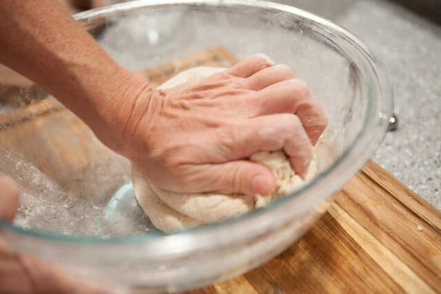 Pork Belly Buns Recipe knead dough