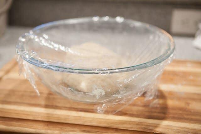Pork Belly Buns Recipe dough resting