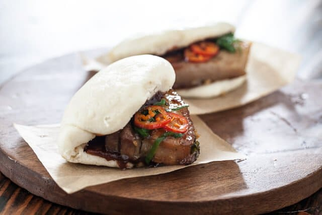 Pork Belly Buns Recipe chilies-and-onions