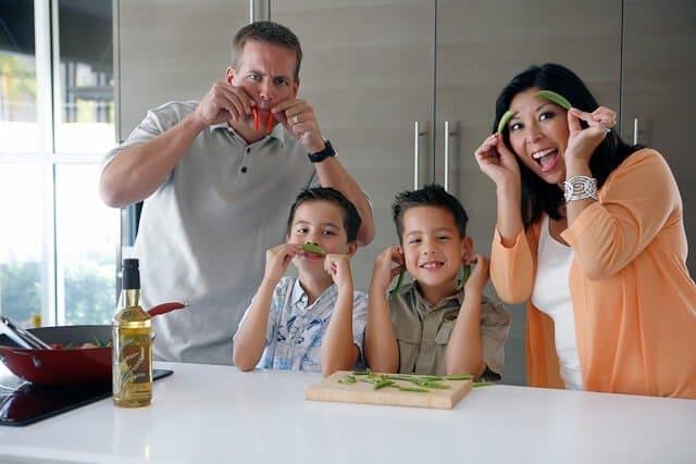 Steamy Kitchen Wok Rice Bran Oil Launch Fun Times