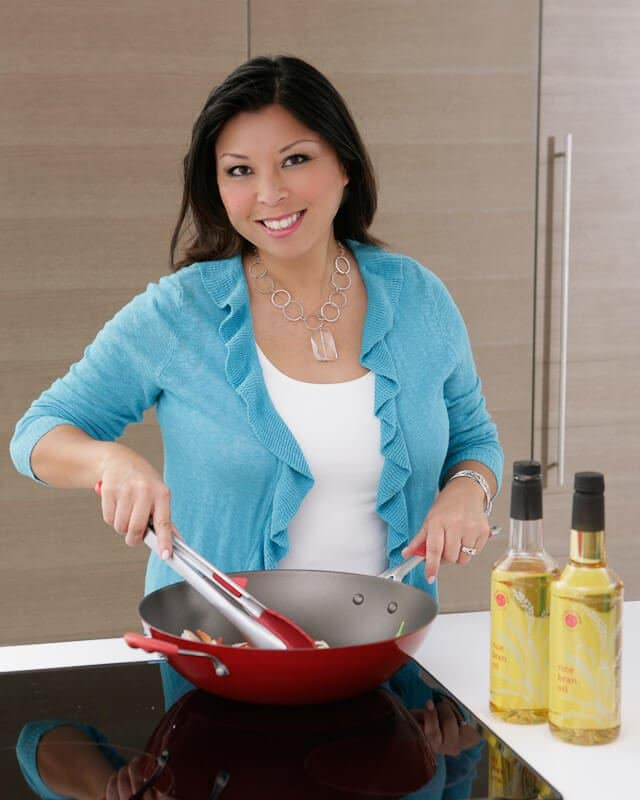 Introducing Steamy Kitchen Wok and Rice Bran Oil! • Steamy Kitchen ...