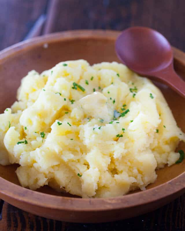 Very Best Mashed Potatoes no milk recipe