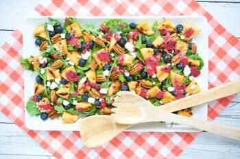 Grilled-Cantaloupe-salad