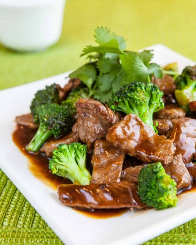 Chinese Broccoli Beef Recipe