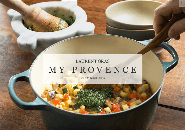 Chef Laurent Gras digital cookbook giveaway