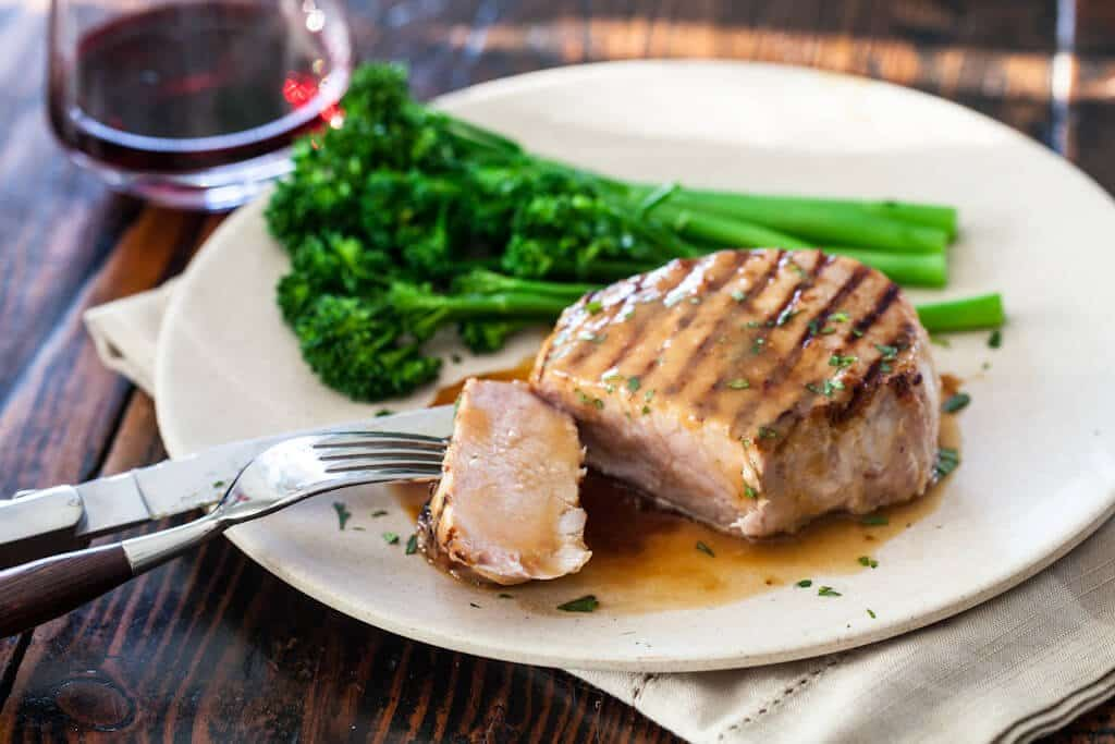 Whiskey Miso Pork Chop Recipe