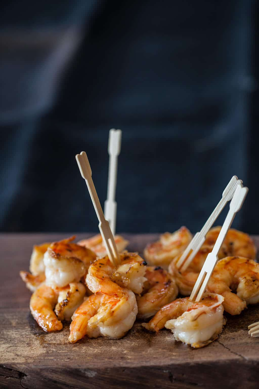 toothpicks in shrimp