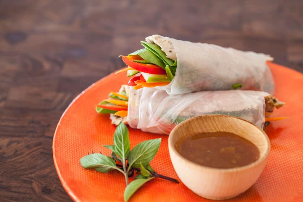 Vietnamese Spring Rolls With Slow Cooker Pork Steamy Kitchen
