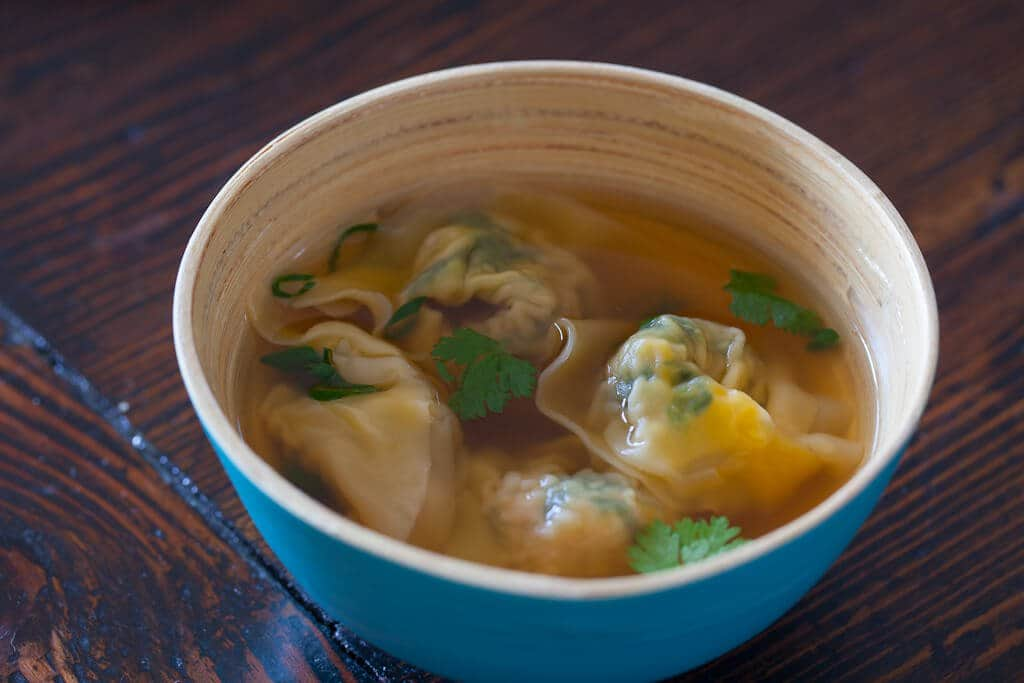 Pork and Spinach Wonton - Steamy Kitchen Recipes