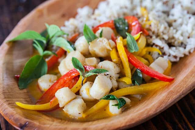 Thai Seafood Curry Recipe - Steamy Kitchen Recipes
