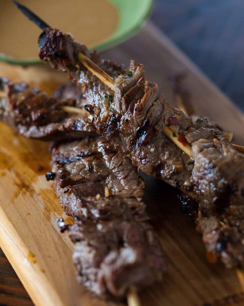 Beef Satay Skewers Recipe