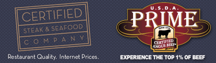 Certified Steak and Seafood Logo