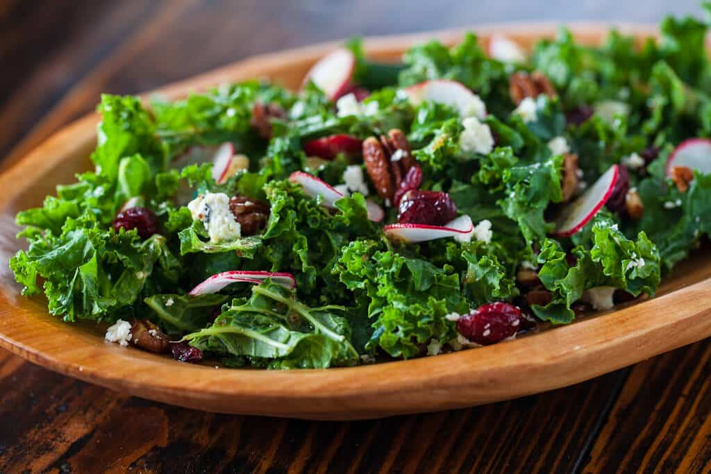 ... Kitchen | Oven | Product Review: Kale Salad with Cherries and Pecans