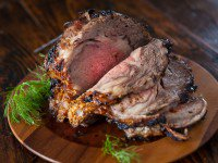 Prime Rib Roast with Miso Rub