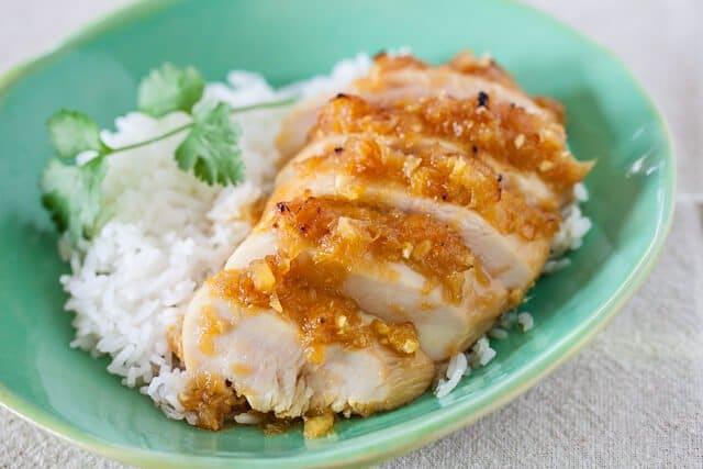 Pineapple Chicken Teriyaki • Steamy Kitchen Recipes