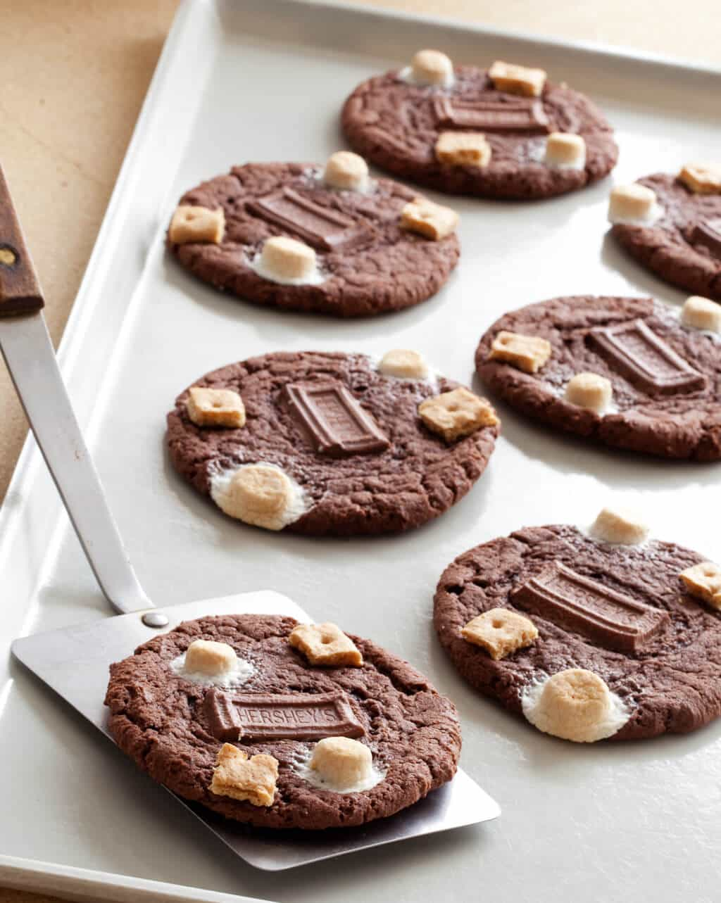 Chocolate Cake S'mores Cookies - Steamy Kitchen Recipes