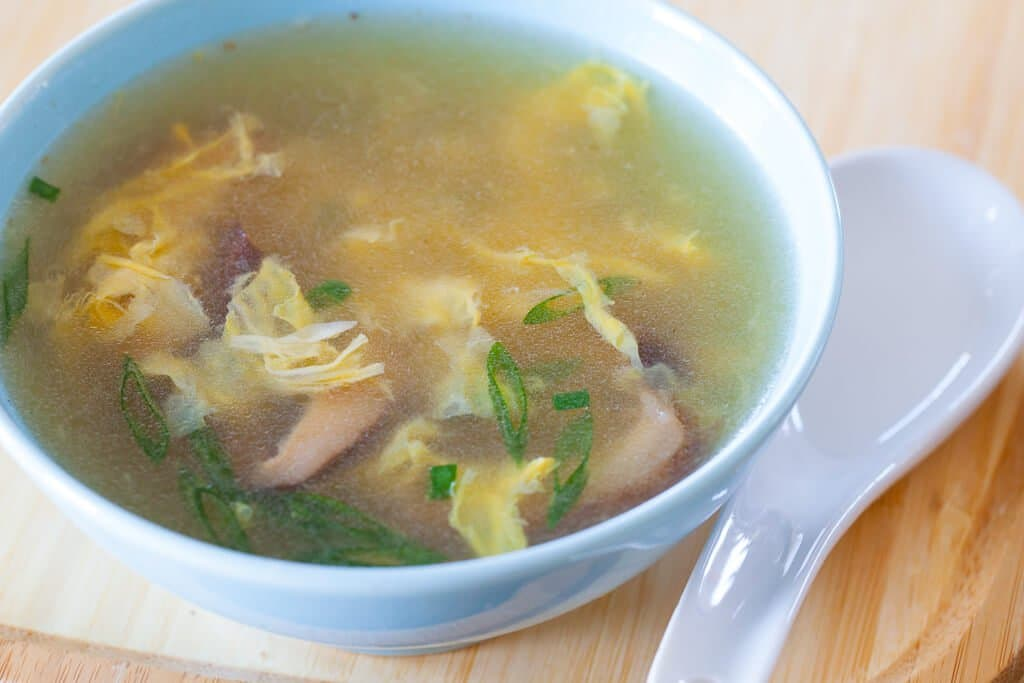Chinese Egg Drop Soup - Steamy Kitchen Recipes