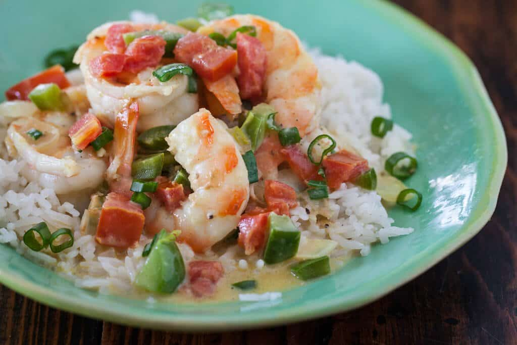 Coconut Curry Shrimp with Coconut Rice Recipe