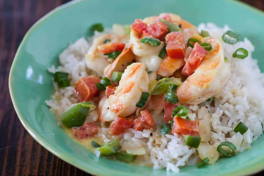 Coconut Curry Shrimp with Coconut Rice - Steamy Kitchen Recipes