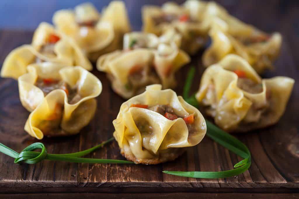Curried Beef Dumplings Recipe