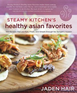 Steamy Kitchen's Healthy Asian Favorites cookbook cover