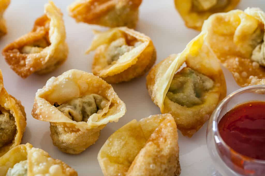 Chinese Fried Wontons Steamy Kitchen Recipes Giveaways