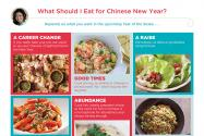 What to eat for Chinese New Year