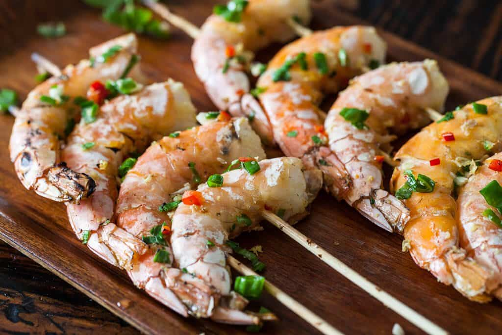 Chinese grilled shrimp steamy kitchen recipes grilled shrimp chinese style recipe forumfinder Gallery