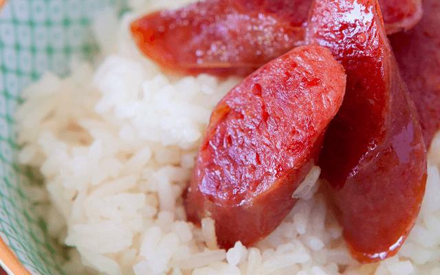 Chinese Sausage and Rice Recipe