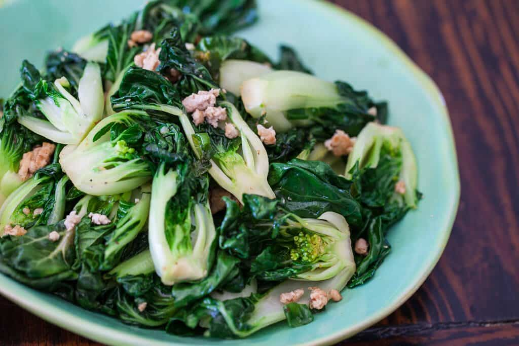 bok choy chicken recipes