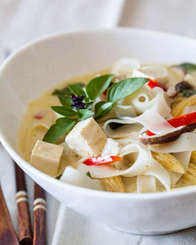 Vegetable Curry Noodle Soup Recipe