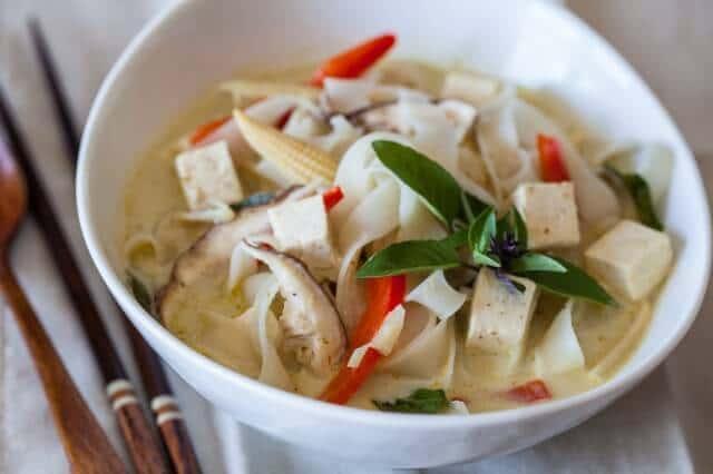 Vegetable Curry Noodle Soup Recipe