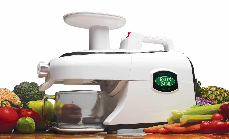 giveaway green star elite juicer from tribest steamy kitchen recipes. Black Bedroom Furniture Sets. Home Design Ideas