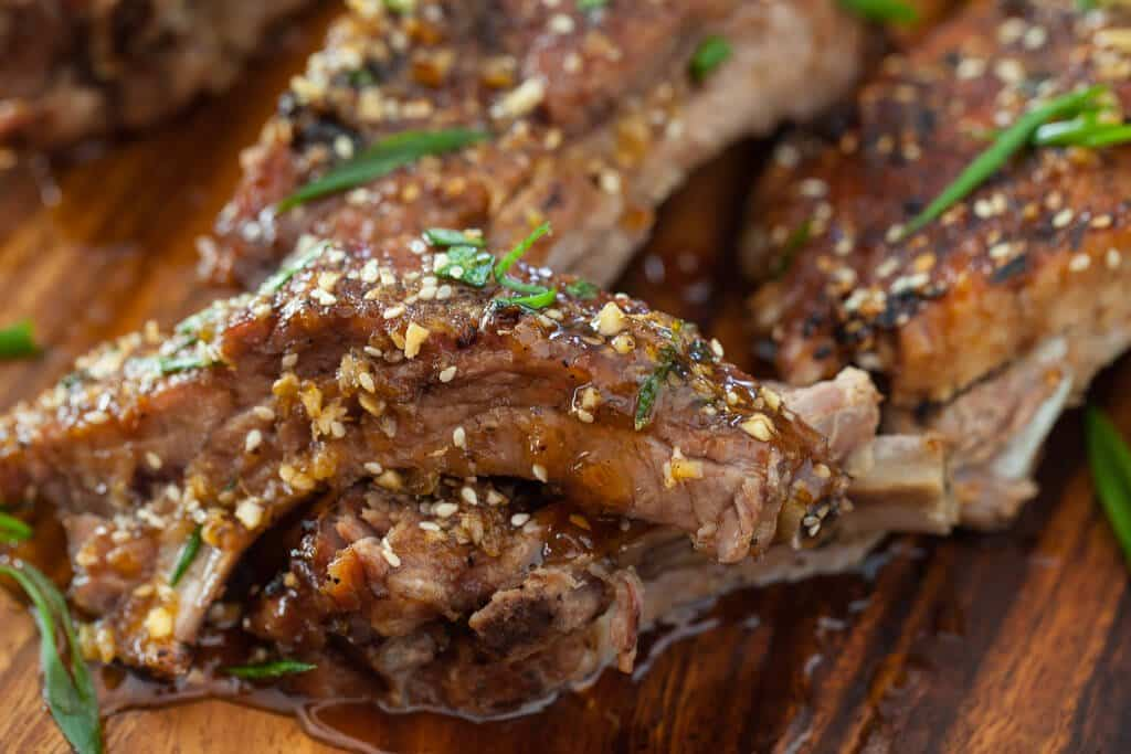 Korean Kalbi Baby Back Ribs - Steamy Kitchen Recipes