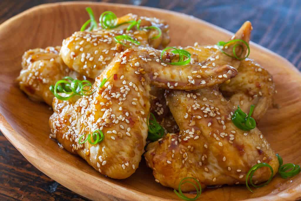 Sticky Asian Chicken Wings - Steamy Kitchen Recipes