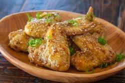 Sticky Asian Chicken Wings Recipe
