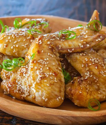 Sticky Asian Chicken Wings Recipe