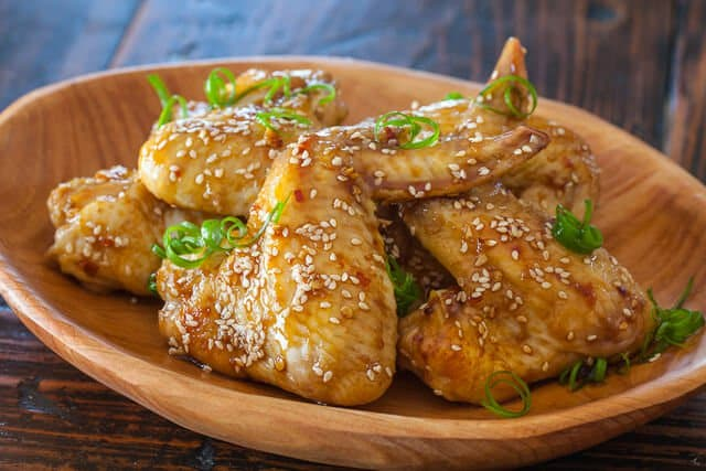 Sticky Asian Chicken Wings • Steamy Kitchen Recipes