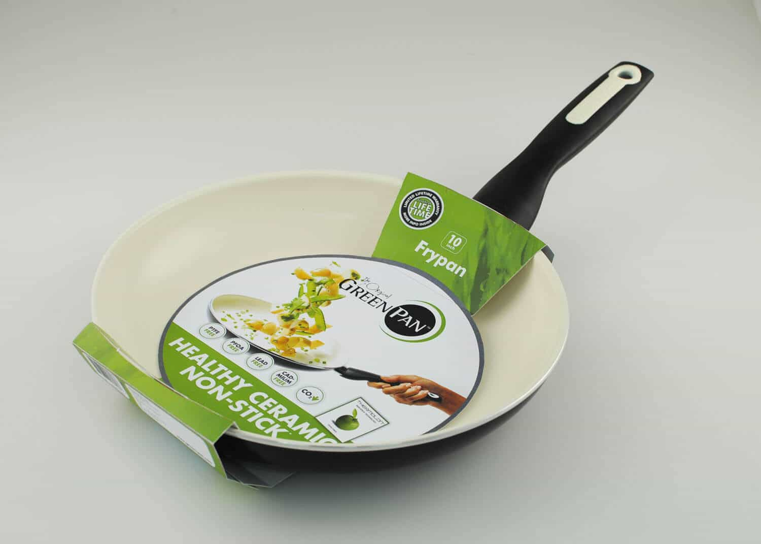 Giveaway Rio 10 Inch Ceramic Non Stick Open Fry Pan By
