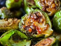 roasted brussels sprouts with sweet chili sauce recipe-9571