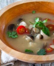 Thai Hot and Sour Chicken Soup Recipe featured-9650