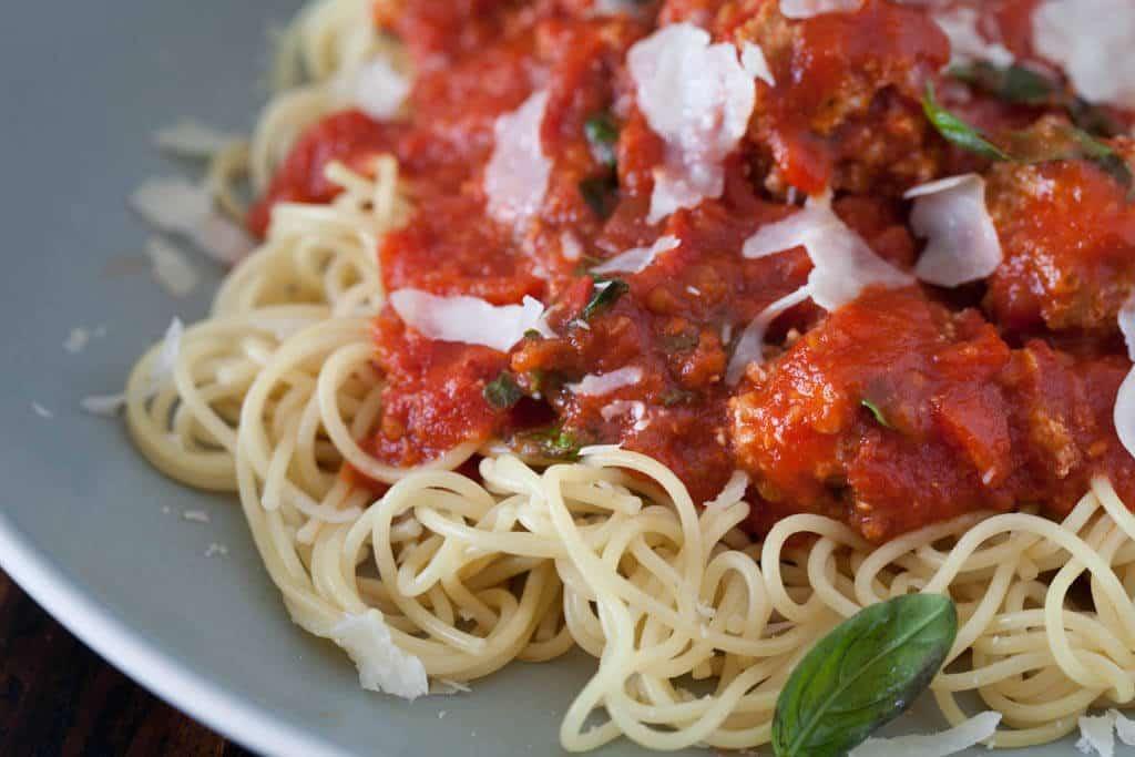 Recipe pasta with tofu