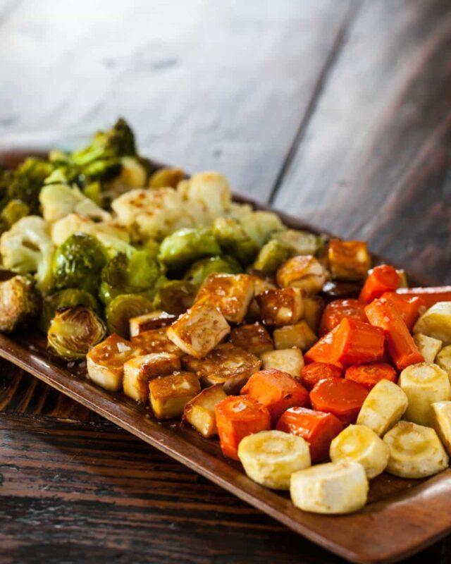 Roasted Tofu and Vegetables Recipe