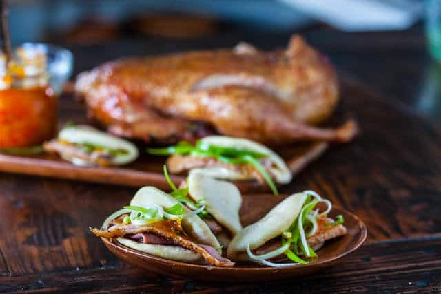 Roasted Duck with Chinese Steamed Buns • Steamy Kitchen Recipes