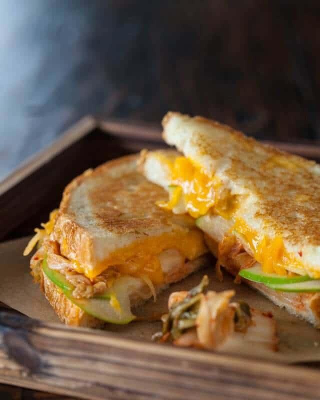 grilled kimcheese sandwiches-9844