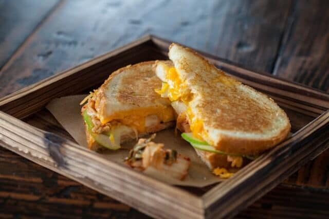 Grilled MILKimcheeze Sandwich From 'The Kimchi Cookbook' Recipes ...