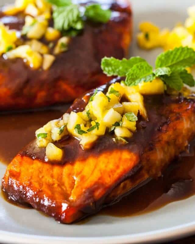 Teriyaki Kitchen: Salmon Teriyaki Recipe • Steamy Kitchen Recipes