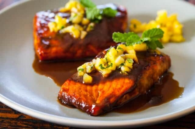 Salmon Teriyaki Recipe - Steamy Kitchen Recipes